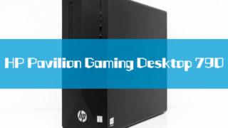HP Pavilion Gaming Desktop 790