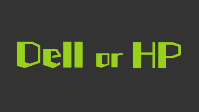 DellとHPの比較