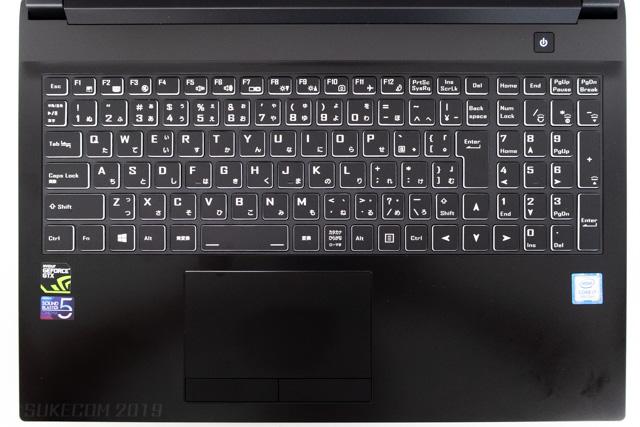 NEXTGEAR-NOTE-i5565のキーボード