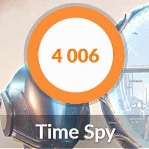 GTX1650のTime Spy
