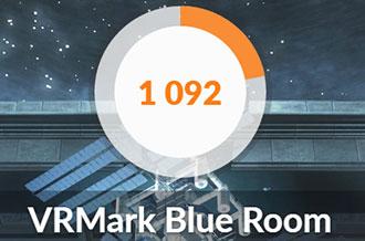 GTX1650のBlue room