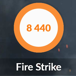 GTX1650のFire Strike