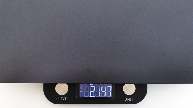 GNシリーズの重量