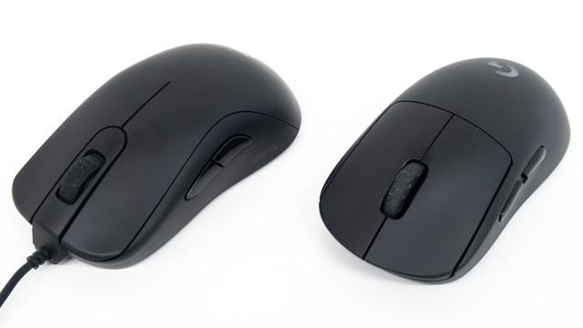 有線マウスとワイヤレスマウス
