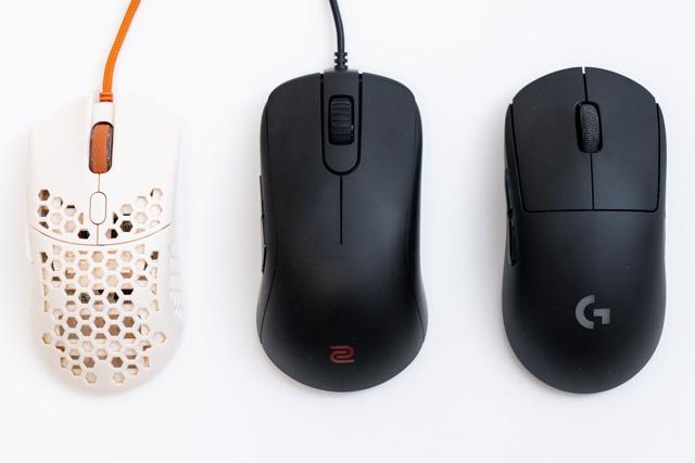 ほかのマウスと比較