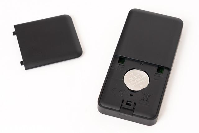 付属のボタン電池