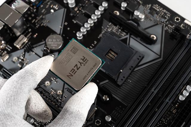 CPUの向き
