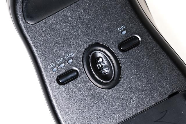 底面の操作ボタン