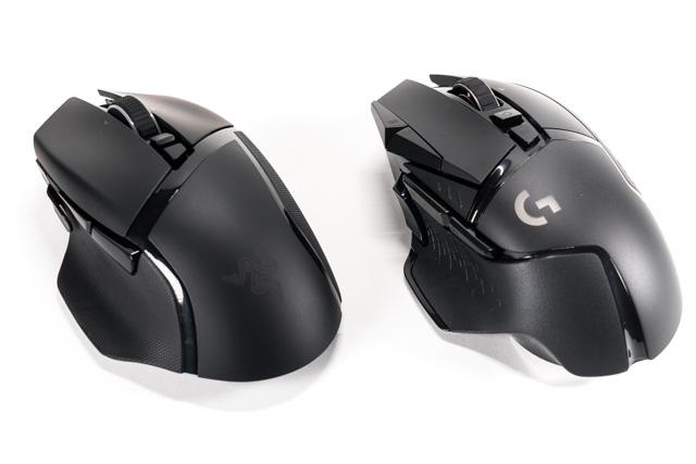 G502WLと比較