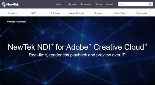 NDIの画面