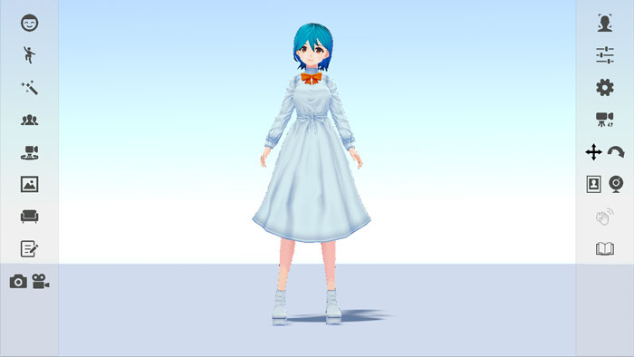 VRoid Studioで作成したアバター