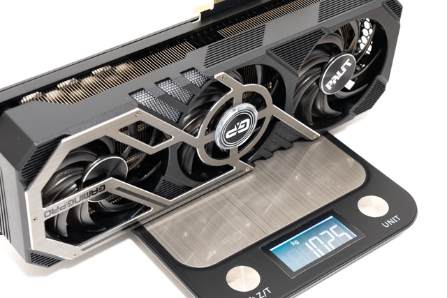 RTX3070の重量