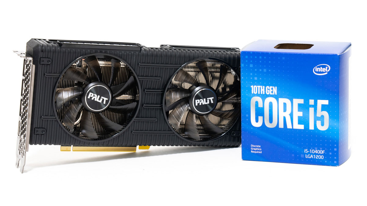Core i5-10400FとRTX 3060のベンチマーク