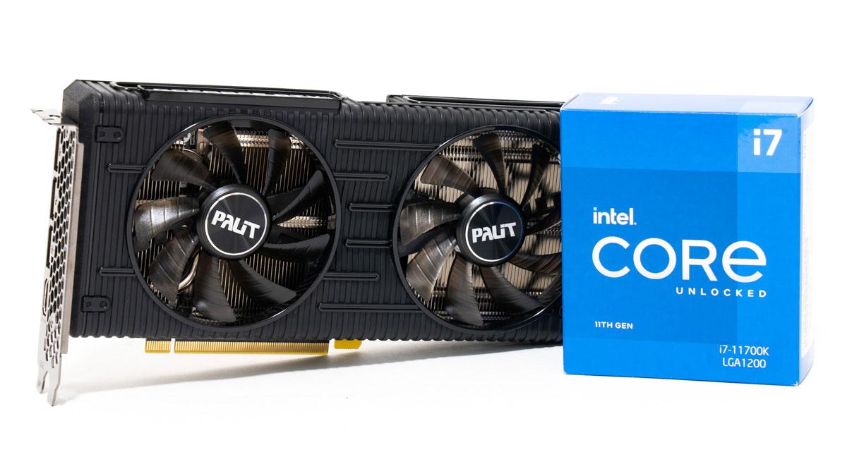 Core i7-11700KとRTX 3060のベンチマーク