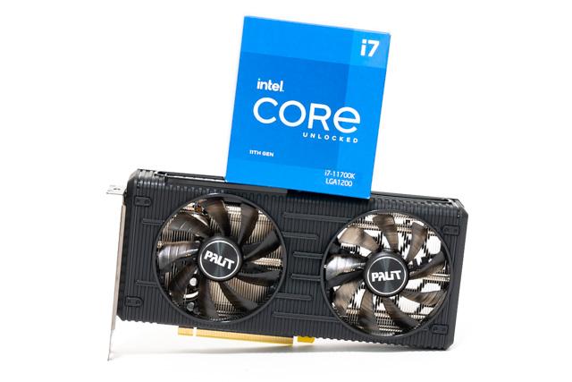 Core i7-11700KとRTX 3060