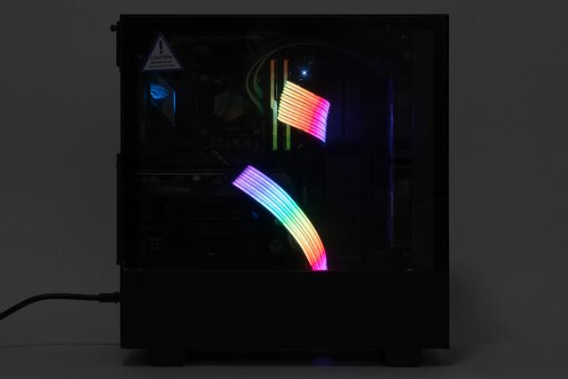 LEDライティングのサンプル