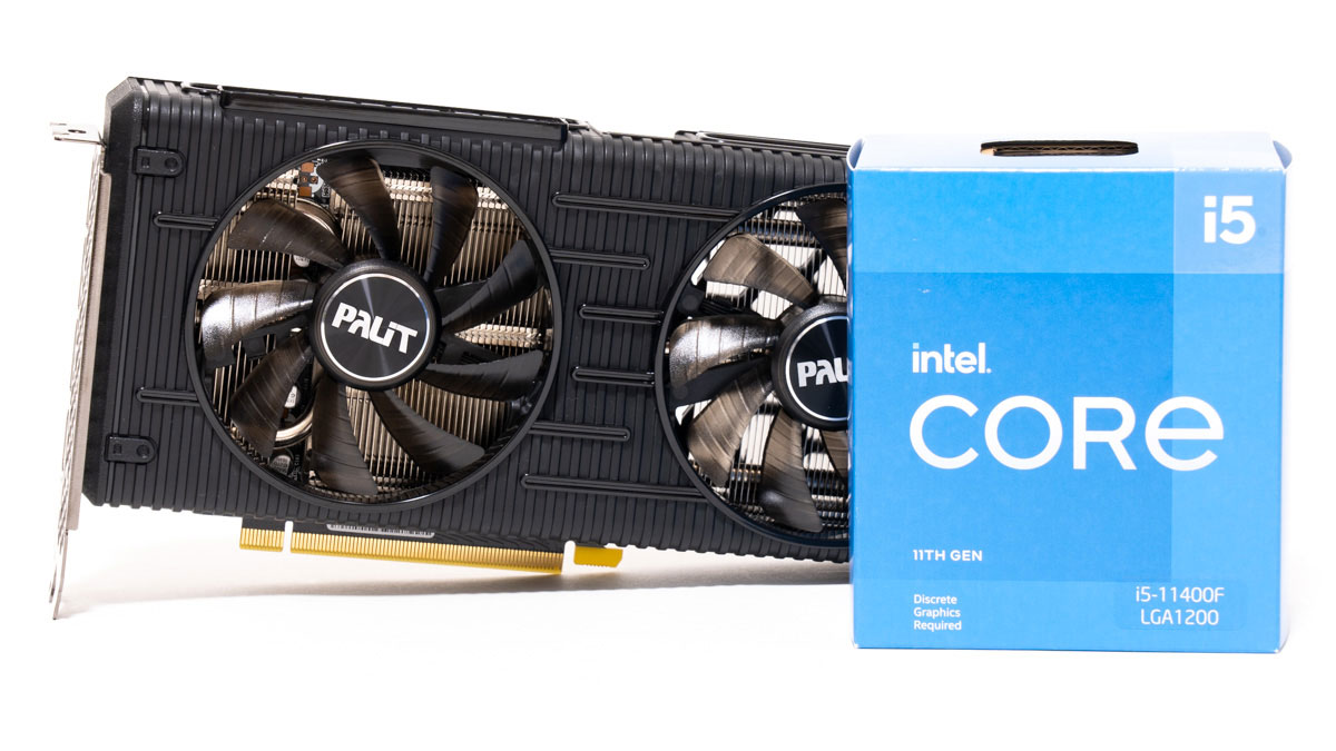 Core i5-11400FとRTX 3060のベンチマーク