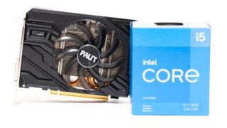 Core i5-11400FとGTX 1660 SUPER