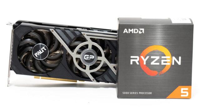 Ryzen 5 5600XとRTX 3070のベンチマーク