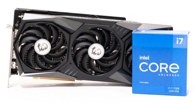 Core i7-11700とRTX 3060 Ti